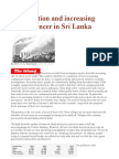 Air Pollution and Increasing Rate of Cancer in Sri Lanka