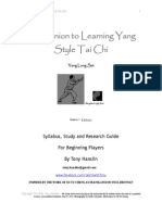 Tai Chi Long Set - Beginners