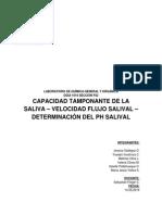 Capacidad Tamponante de La Saliva _ Velocidad Flujo Salival _ Determinación Del Ph Salival