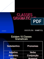 Classes Gramaticais Slides