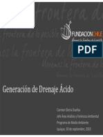 Generacion Drenaje Acido CGDueñas