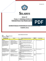 Silabus Sd Kelas IV 2013