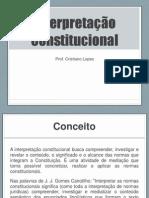 INTERPRETACAO CONSTITUCIONAL