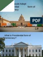 NEP Presentation Final Cut - Presidential form of Govt