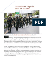 Why the Latest Coup May No Longer Be 'Business-As-usual' for Thailand