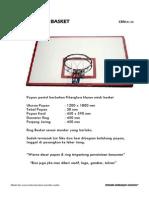 Papan Pantul Basket Cbn