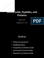 Amino Acids, Peptides, And Proteins I 2013