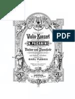 Paganini D Major Concerto