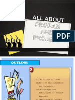 All About Project and Program