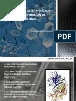 Metodos de Determinacion de Concentracion de Proteinas