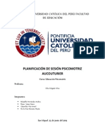 Informe Psicomotricidad FINAL