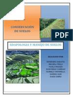 Conservacion de Suelos_trabajo de Edafologia