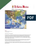 01-07-2014 El Sol de México - Tormenta tropical Elida, a 175 km de Michoacán..