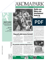 Takoma Park Newsletter - July 2014