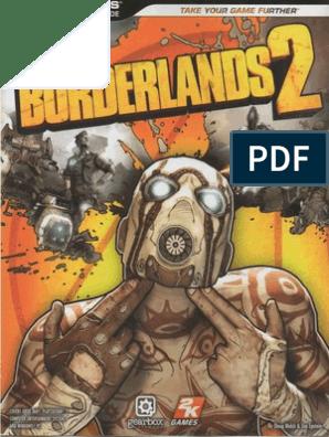 Borderlands 2 game guide pdf