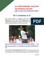 PGA Tour 2014 Winners