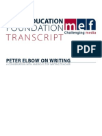 Elbow-Interview Transcript MediaEducationFoundation
