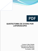 quistectomia ovario