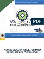 Proceso Educativo Por Competencias Profesionales