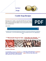 Castile Soap Recipes