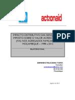 Armindo Tomo - Estudo Do Impacto Distributivo Das Isenções Do IVA Nas Famílias Em Mocambique 2013