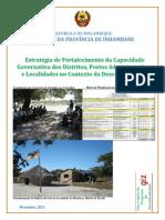 Armindo Tomo - Fortalecimento Da Capacidade Governativa Local - Moçambique