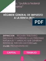 Regimen Unico