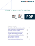 cisco video conferencing guide
