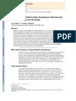 Giedd JN Rapoport JL 2010 Structural MRI of Pediatric Brain Development