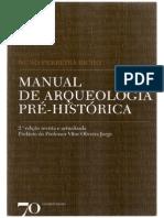 Nuno Ferreira Bicho - Manual de Arqueologia Pré-Historica