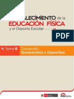 6. Desarrollo Sociomotriz y Deportivo