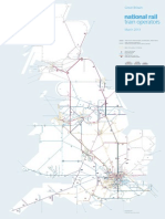 National Rail Network Map Zoom