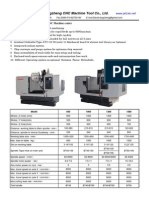 CNC Milling Machine, Machine Center