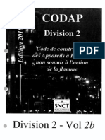 CODAP 2010 Div 2 0 Sommaire