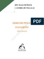 Derecho Penal Panameno (Munoz R.yvillalaz)