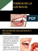 Relacion de Salud Bucal