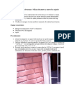 Informe Trabajo de Campo Construcción 1