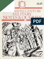 Partizan Press - 18th Century Notes & Queries 001