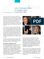 A Conversation with J. Christopher Mihm Managing Director, Strategic Issues Government Accountability Office