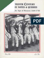 Partizan Press - 18th Century Notes & Queries 010