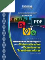 UF10 Herramientas Metodologicas - Sistematizacion