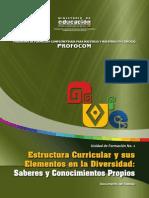 UF2 Estructura Curricular y Elementos en Div.