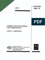 2 Partidas Carreteras 2000-1-1991