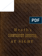 (1864) Heath's Infallible Counterfeit Detector at Sight