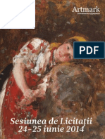 Catalog Vechi Maestri Ai Artei Romanesti Iunie 2014 Artmark