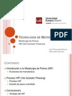 Tecnología de Materiales HIP