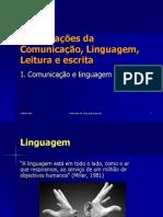 Comunicação, Linguagem e Perturbações Do Desenvolvimento Da Linguagem 1