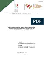 ADECUACIÓN DEL SERVICIO DE INTELIGENCIA Y ESTRATEGIAS PREVENTIVAS DEL CUERPO DE POLICÍA DEL ESTADO LARA, AL NUEVO MODELO POLICIAL VENEZOLANO.