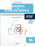 Caderno de Atencao Basica Diabetes 2013