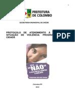 6 Protocolo Da Rede de Atendimento a Mulher Em Violencia Mulher Cidada Versao 2012